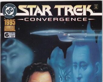 Vintage Star Trek Comic Book, Star Trek Original Series, Annual 6, 1995, DC Comics