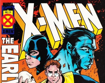X-Men The Early Years Comic Book Volume 1 Number 15 July 1995, Marvel Comics