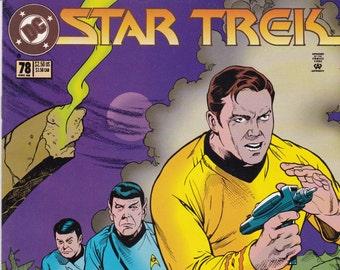 Vintage Star Trek Comic Book, Star Trek Original Series, Number 78, December 1995, DC Comics