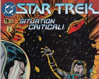 Vintage Star Trek Comic Book, Star Trek Original Series, Number 79, January 1996, DC Comics