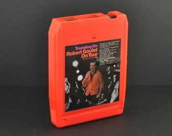 8-Track Traveling On Robert Goulet On Tour 1974 - Music - Recorded - Television - Blue Light - American -  Nazi Germany - Kander and Ebb