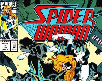 Spider-Woman Comic Book Volume 2 Number 4 February 1994, Marvel Comics