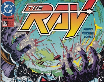 Vintage Comic Book, The Ray, Number 13, June 1995, DC Comics
