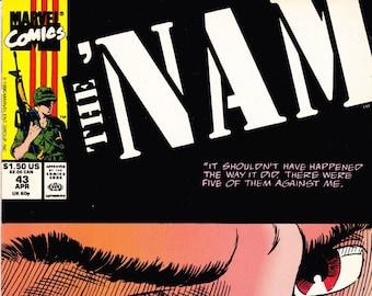The NAM Comic Book Volume 1 Number 43 April 1990, Marvel Comics