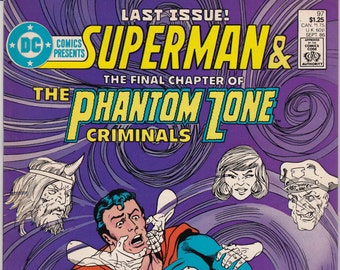 Vintage Comic Book, Superman, Number 97, Summer 1986, DC Comics