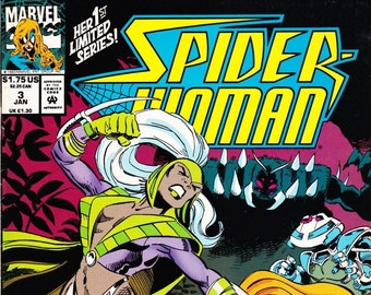 Spider-Woman Comic Book Volume 2 Number 3 January 1994, Marvel Comics