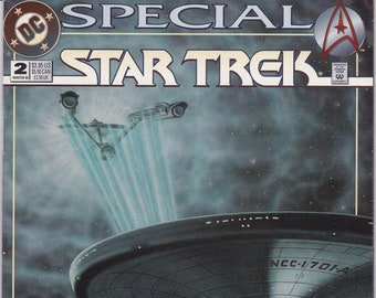 Vintage Star Trek Comic Book, Star Trek Original Series, Special No 2, Winter 1994, DC Comics