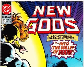Vintage Comic Book, New Gods, Number 27, 27 July 1991, 3rd Release, DC Comics