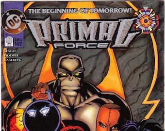 Primal Force Comic Book Number 0 October 1994, DC Comics