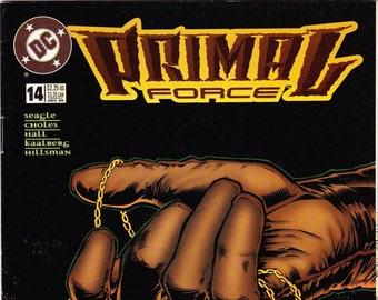 Primal Force Comic Book Number 14 December 1995, DC Comics