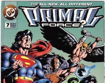 Primal Force Comic Book Number 7 May 1995, DC Comics