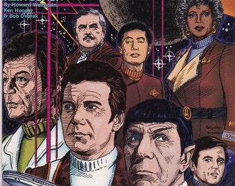 Vintage Star Trek Comic Book, Star Trek Original Series, Number 17, March 1991, DC Comics