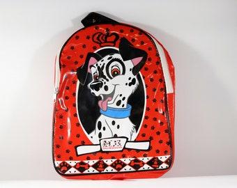 Vintage 101 Dalmatians Plastic Backpack, 1996