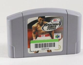 Vintage Nintendo 64 Knockout Kings 2000 N64 Game