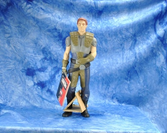 "Vintage Star Wars Action Figure 10"" Dash Rendar Vinyl Doll, 1990s, Shadow Of The Empire, Applause Figure"