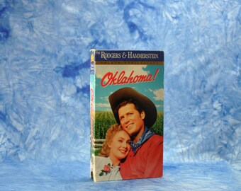 Vintage VHS Tape 1955 Oklahoma Re-Release 1994 - Gordon MacRae  - Gloria Grahame - Shirley Jones - Eddie Albert - Rod Steiger - Gene Nelson
