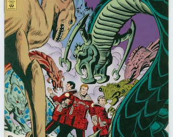 Vintage Star Trek Comic Book, Star Trek Original Series, Number 52, September 1993, DC Comics