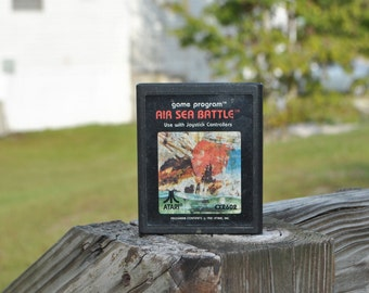 Vintage Atari 2600 Game, Air Sea Battle 1977