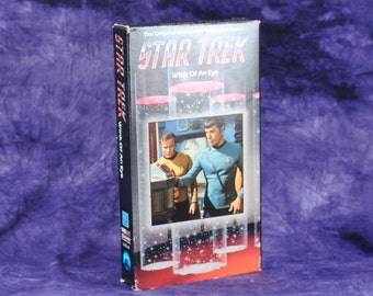 Vintage Star Trek The Original Series TV Episode 1988 Wink Of An Eye Airdate 1968 VHS Tape - Captain Kirk - Spock - Scalos - USS Enterprise