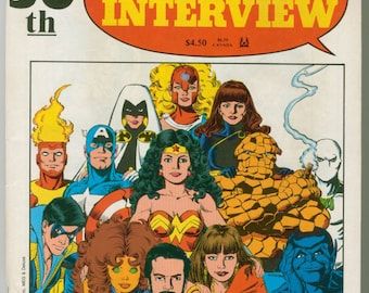 Comics Interview Comic Book Number 50 1987 Special Edition