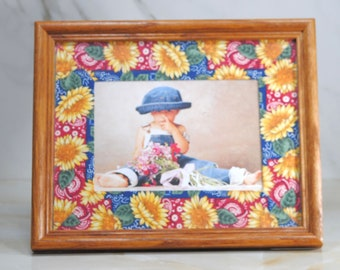 Vintage Framed Ann Geddess Photograph 1995