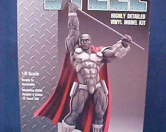 STEEL Model, DC Comics, Rare, Discontinued, Highly Detailed, Weapons Engineer, Super Hero, Superman, Exo-Skeleton, Kinetic Hammer