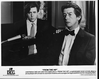 Vintage Photograph, Judd Nelson in From The Hip, 1986 8x10 Black & White Promotional Photo