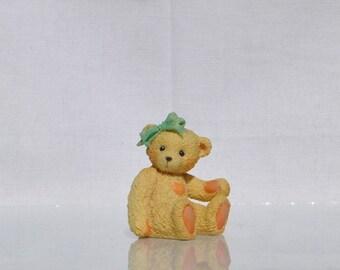 Vintage Cherished Teddies, Jack 1991, Priscilla Hillman Enesco Figurine