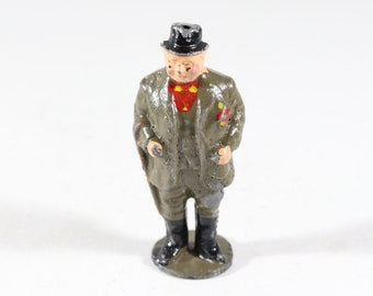 Vintage Barclay Manoil Lead Figure, Circus Bigtop Ring Leader, 1950s France