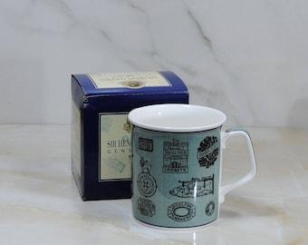 Vintage Royal Doulton 'Sir Henry Doulton Centenary Mug', 1997 Souvenir Cup, 100 Year Commemorative Cup, Archive Green Coffee Cup, Tea Mug