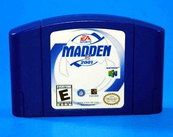Vintage Nintendo 64 Madden NFL 2001, N64 Game