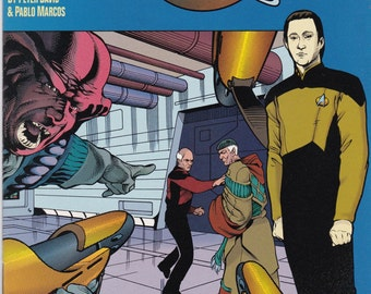 Vintage Star Trek Comic Book, Star Trek Original Series, Modala Imperative, Number 3, 1991, DC Comics