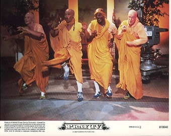 1980 Vintage The Movie Pray TV 8x10 Color Lobbycard  - Filmways Pictures