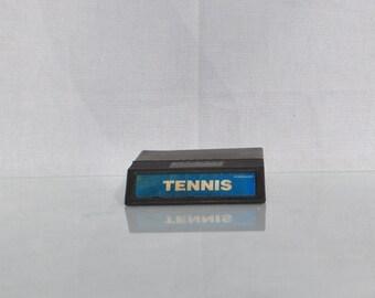 Mattell Intellivision Tennis 1982