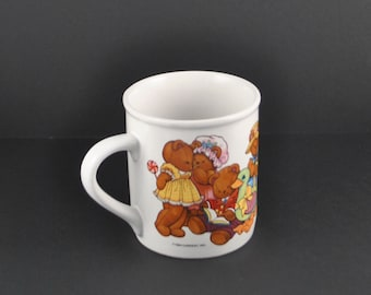 Vintage Teddy Bear Cup 1984