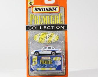 Vintage Matchbox Diecast Car, 1997, Premiere Collection, South Dakota Highway Patrol