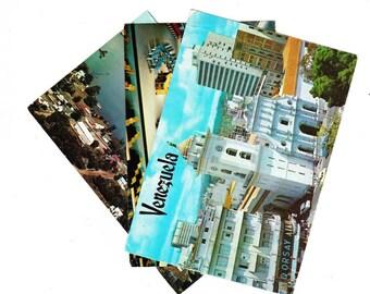 Vintage PostCard Bundle, 3 cards, 1960s, Cathedral Caracas Venezuela, Wolf Island Ferry, Wolf Island Ontario, United Nations, New York City