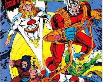 Vintage Comic Book, New Gods, Number 28, August 1991, DC Comics