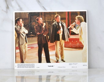 Vintage 8x10 Color Lobbycard From The Movie SOB, Paramount Pictures, 1981, Movie Still, Hollywood, Promotional, Advertisement, Film
