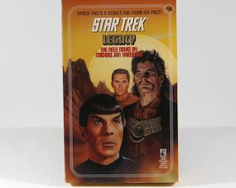 Vintage Paperback Book Star Trek Legacy #56 1991