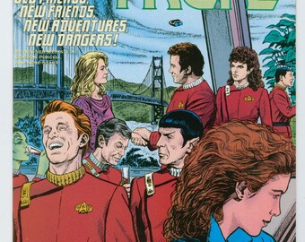 Vintage Star Trek Comic Book, Star Trek Original Series Number 25 November 1991, DC Comics