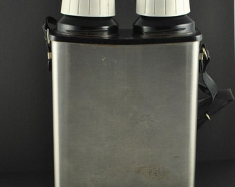 Vintage Thermo-Serv Coffee Thermos, Duel Thermos