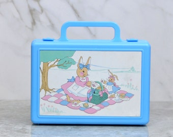 Vintage Bunny Tales Lunch Box from 1990 RARE