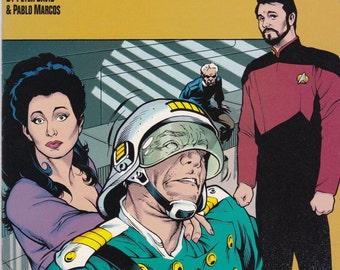 Vintage Star Trek Comic Book Star Trek Next Generation, Modala Imperative, Number 4 1991, DC Comic Book