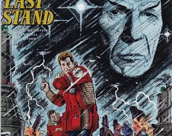 Vintage Star Trek Comic Book, Star Trek Original Series, Number 21, July 1991, DC Comics