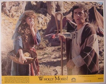 Vintage Lobby Card, Dudley Moore and Laraine Newman in Wholly Moses, 1978 8x10 Color