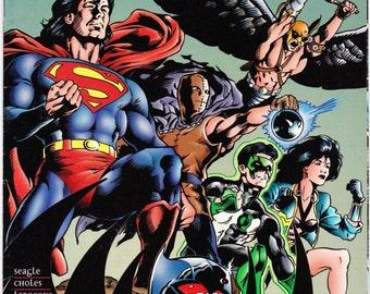 Vintage Comic Book, Primal Force, Number 7, May 1995, DC Comics