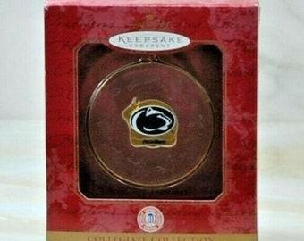 Vintage Hallmark Keepsake Christmas Ornament, College Collection Penn State Nittany Lions