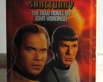 Vintage Star Trek Book, Sanctuary 1992, Paperback