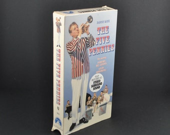 Vintage VHS Tape The Five Pennies 1959 Remake starring Danny Kaye & Barbara Bel Geddes